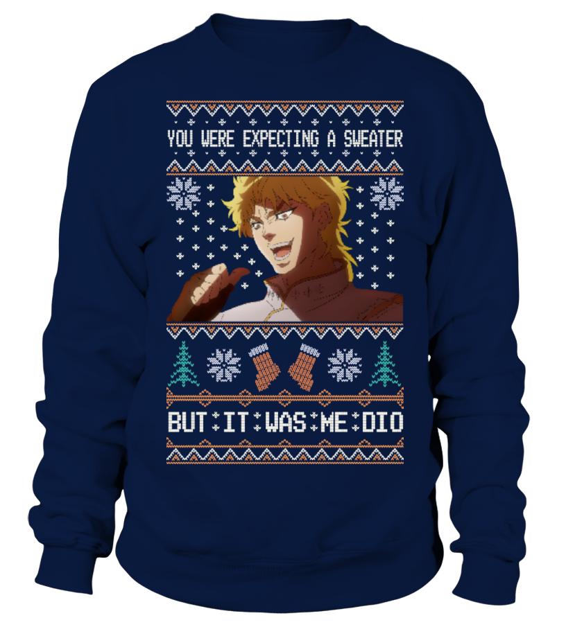 Jojo Dio Ugly Sweater Sweatshirt Teezily