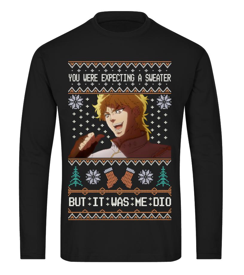 Jojo Dio Ugly Sweater T Shirt Teezily