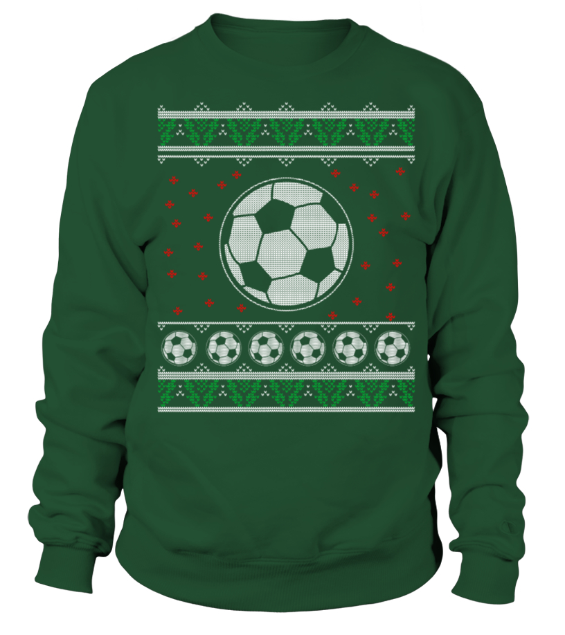 Sweater - Soccer Ugly Christmas Sweater