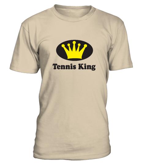 Tennis King T-shirt | Teezily