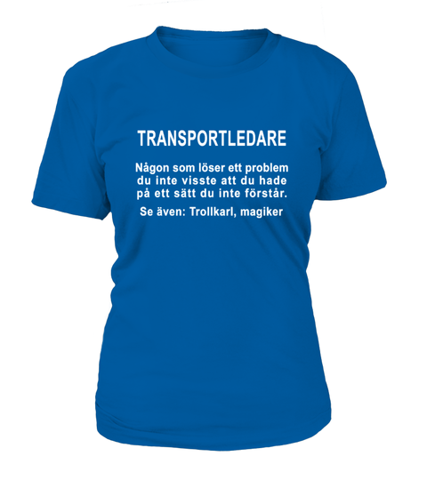 Transportledare T-shirt | Teezily