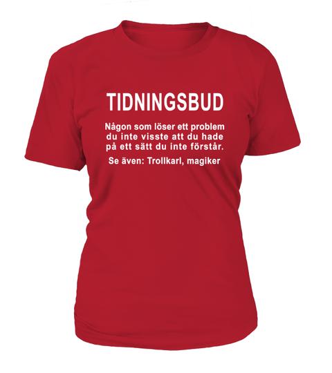 Tidningsbud T-shirt | Teezily