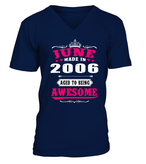 2006 June Aged to being Awesome T-shirt | Teezily