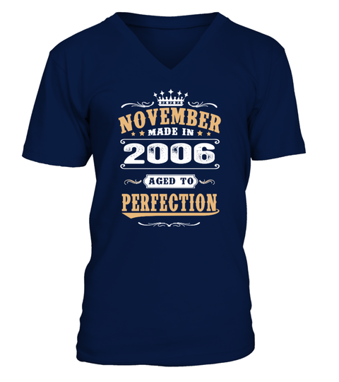 2006 November Aged to Perfection T-shirt | Teezily