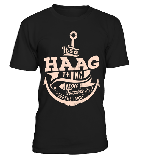 HAAG THINGS T-shirt | Teezily