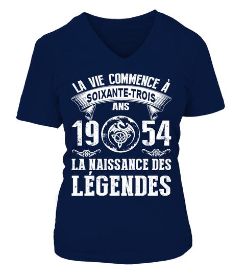 Camiseta 1954  la naissance des legendes tshirt | Teezily