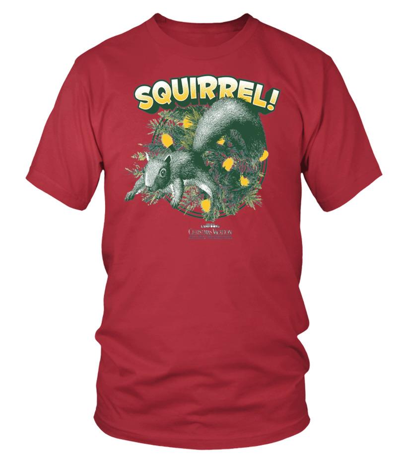 Christmas Vacation Squirrel.Christmas Vacation Squirrel T Shirt
