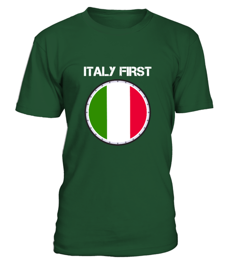 ITALY First Shirt T-shirt | Teezily