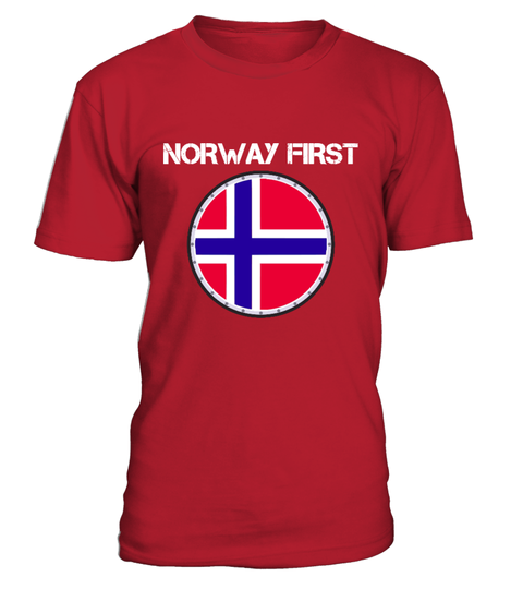 Norway First T-shirt | Teezily