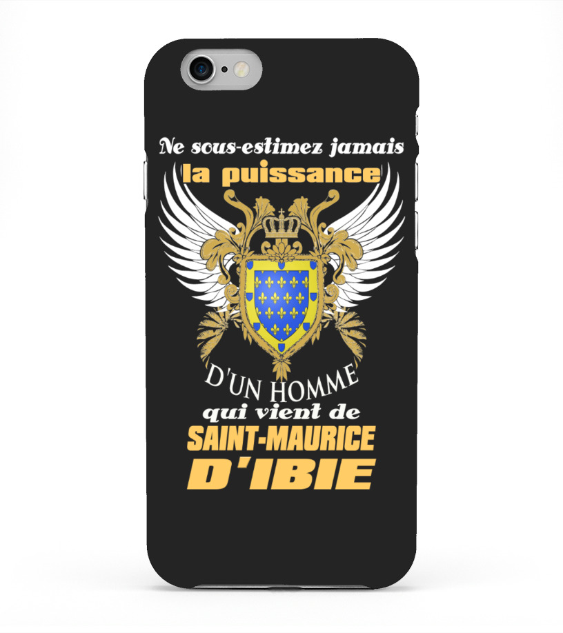 Coque iPhone 6 Plus - Saint-Maurice-d'Ibie | Teezily