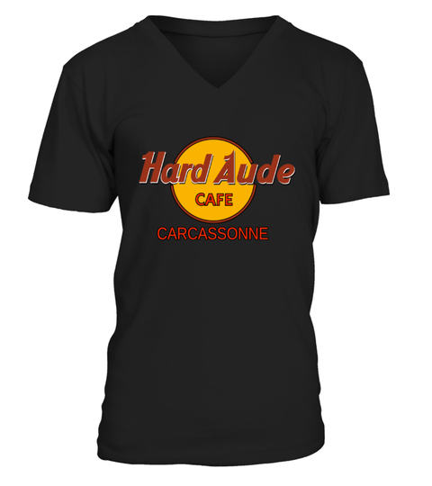 hard aude cafe carcassonne T-shirt | Teezily