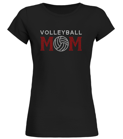 Volleyball MOM T-Shirt | Teezily
