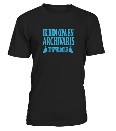 Opa en archivaris T-shirt | Teezily