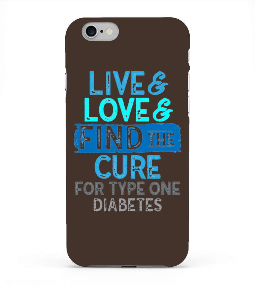 Men S Live Love Find The Cure For Type One Diabetes Support Shirt Medium  Baby Blue