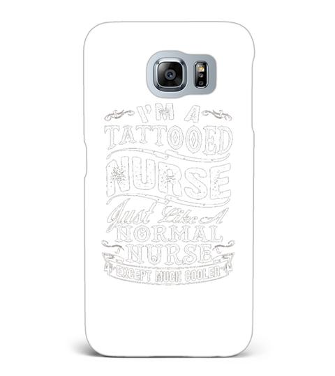 Capa para Samsung Galaxy S6 I M A Tattooed Nurse Tshirt | Teezily