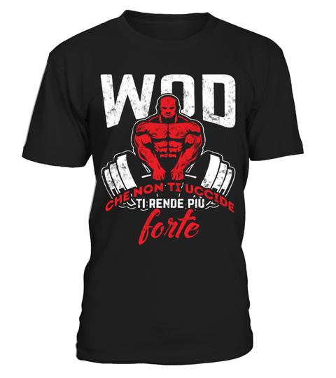 Maglietta WOD che non ti uccide ti rende più forte | Teezily