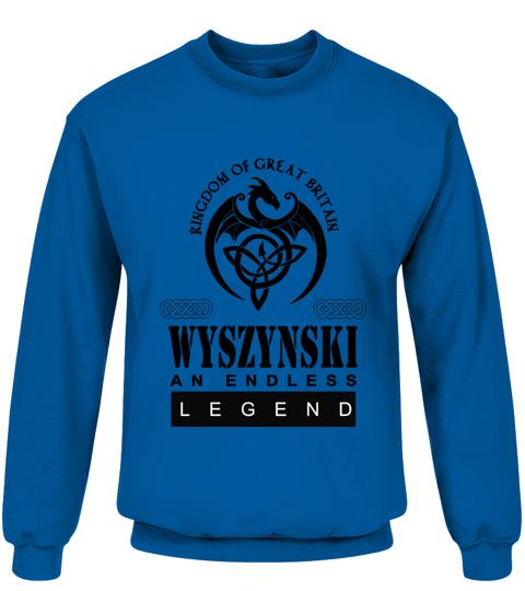THE LEGEND OF THE ' WYSZYNSKI '