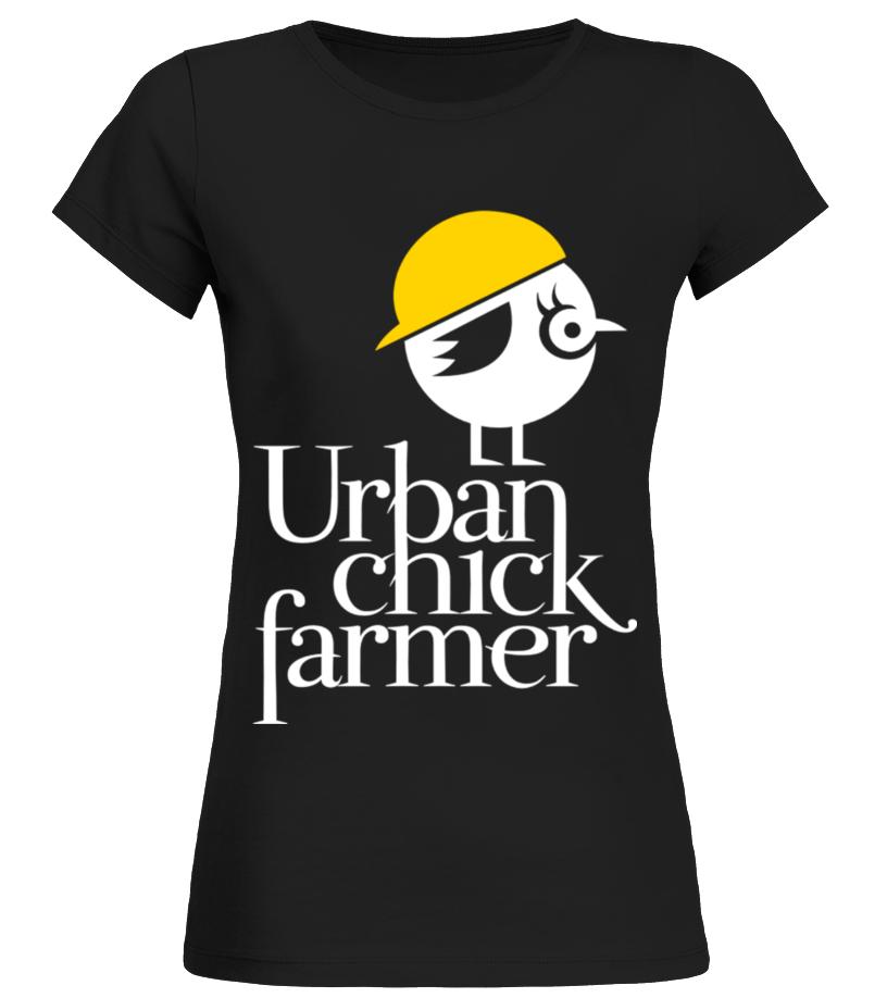 Urban Chick Farmer T Shirt Birthday Gift Mug