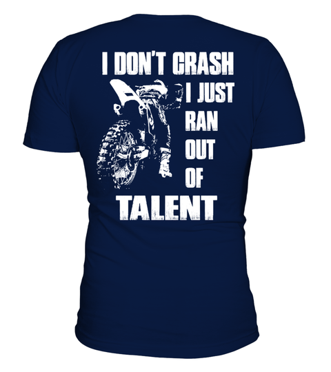 hobbies - motorcycle Mx Ran Out of Talent HOODIES