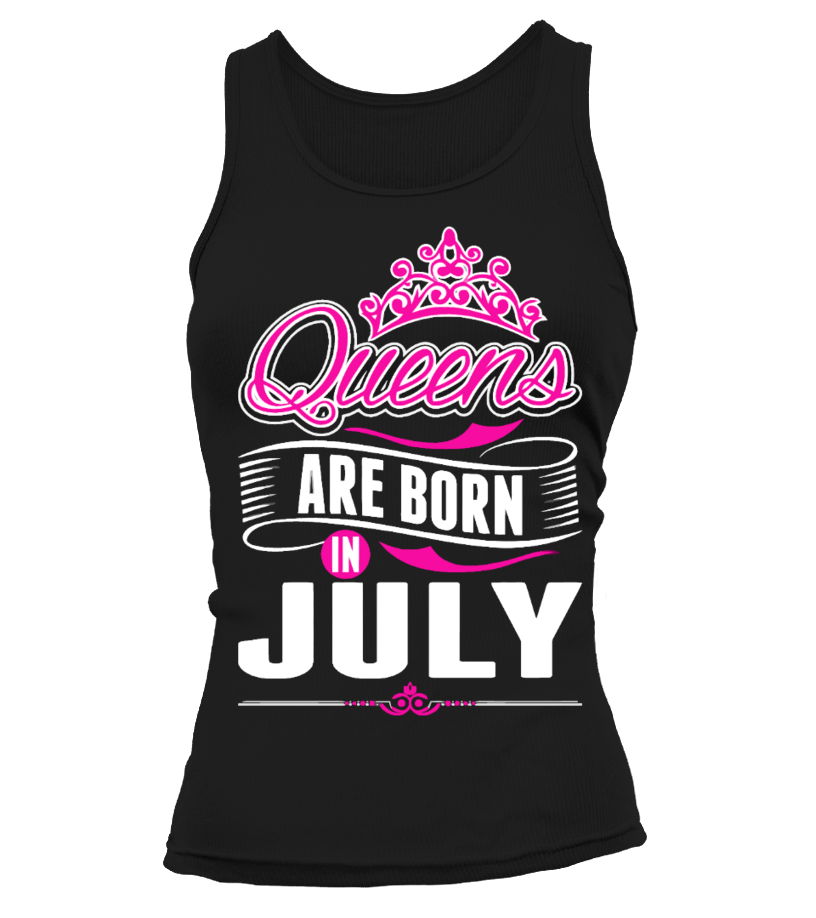369fe1ebc Queens Are Born In July Gift T-Shirt - T-shirt | Teezily