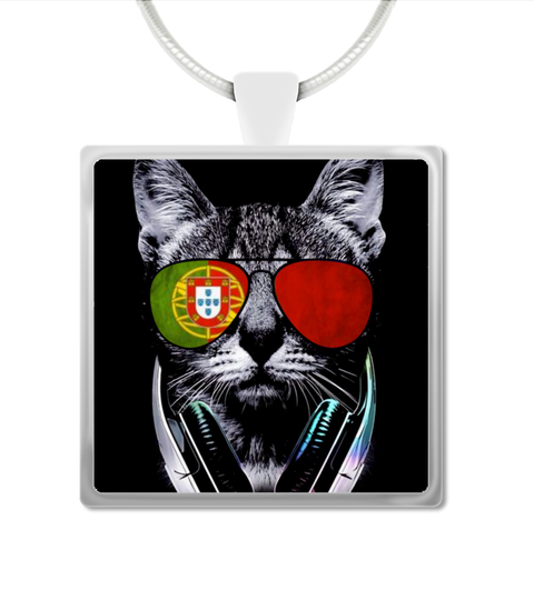Colar Necklace Portugal Cat | Teezily