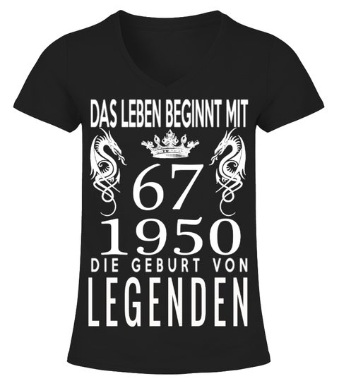 LEGENDEN 1950 67 T-Shirt | Teezily