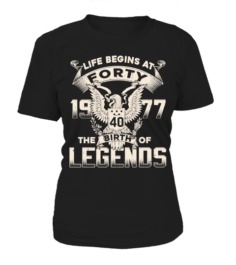 1977 Legends T-shirt | Teezily