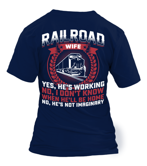 Railroad Wife t-paita | Teezily
