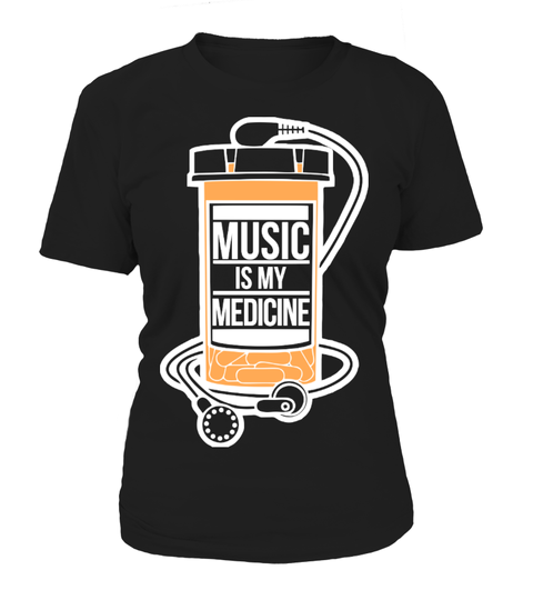 Music is my medicine T-shirt | Teezily
