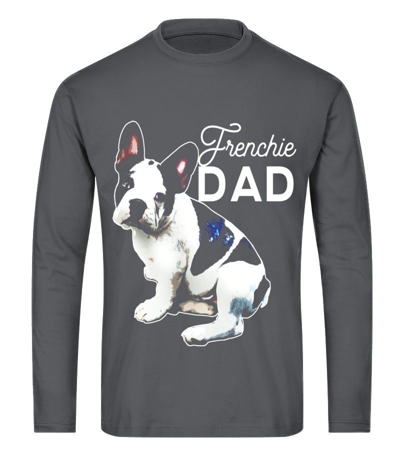 54a60be5 Mens Frenchie Dad T-Shirt French Bulldog Shirt Men Bulldog Gift - T ...