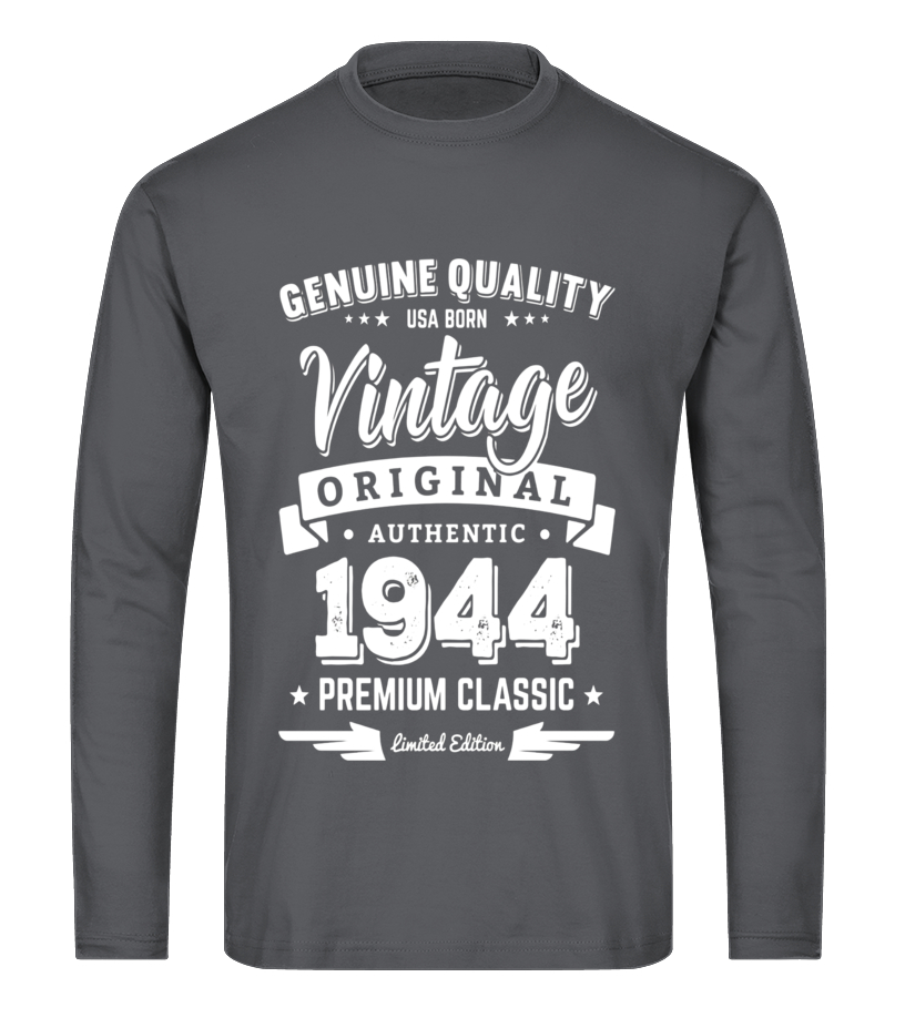 f6b6b813d Born in 1944 Vintage Birthday T-Shirt - Made in 1944 Shirts - T ...