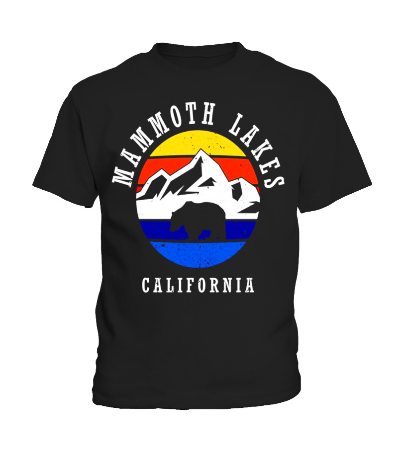 Mammoth Lakes Tshirt Men Summer Mountain Shirt Women Kids - T-shirt ... 69c7871490