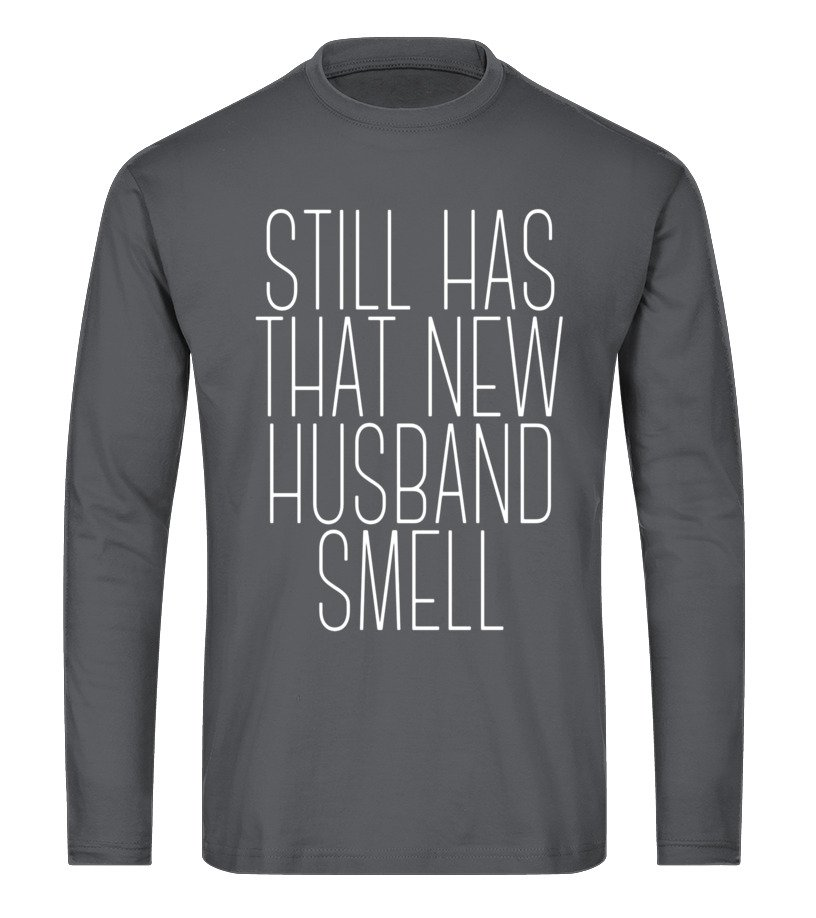 a14c3e18e That New Husband Smell T-Shirt Married Funny Wedding Gifts - T-shirt ...