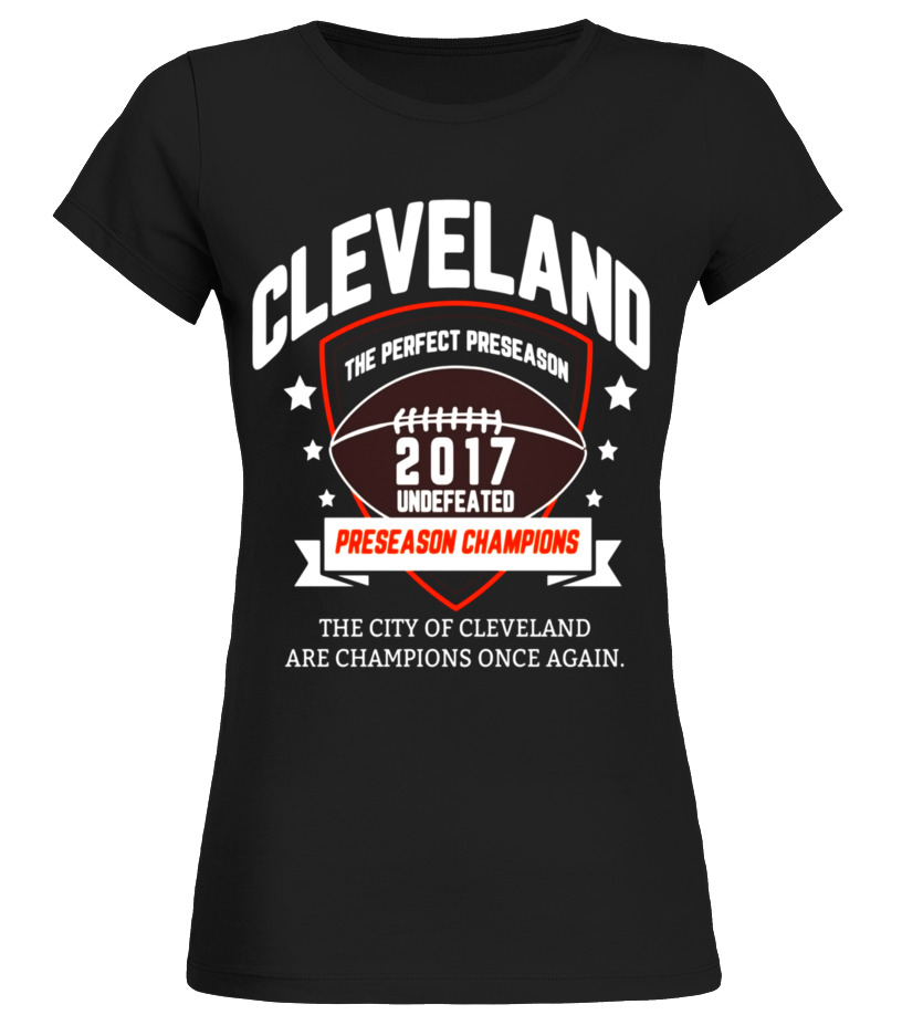 cleveland browns undefeated shirt