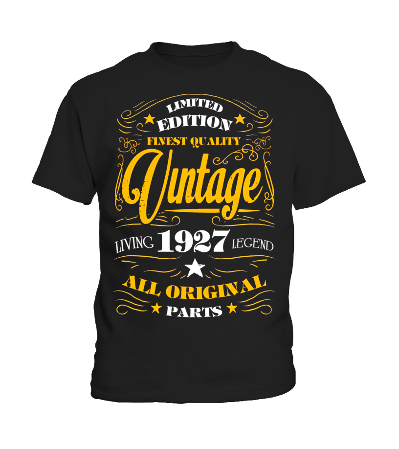 Birthday Gift For 25 Year Old Woman Unique 90 90th Round Neck T Shirt Unisex 2195 EUR