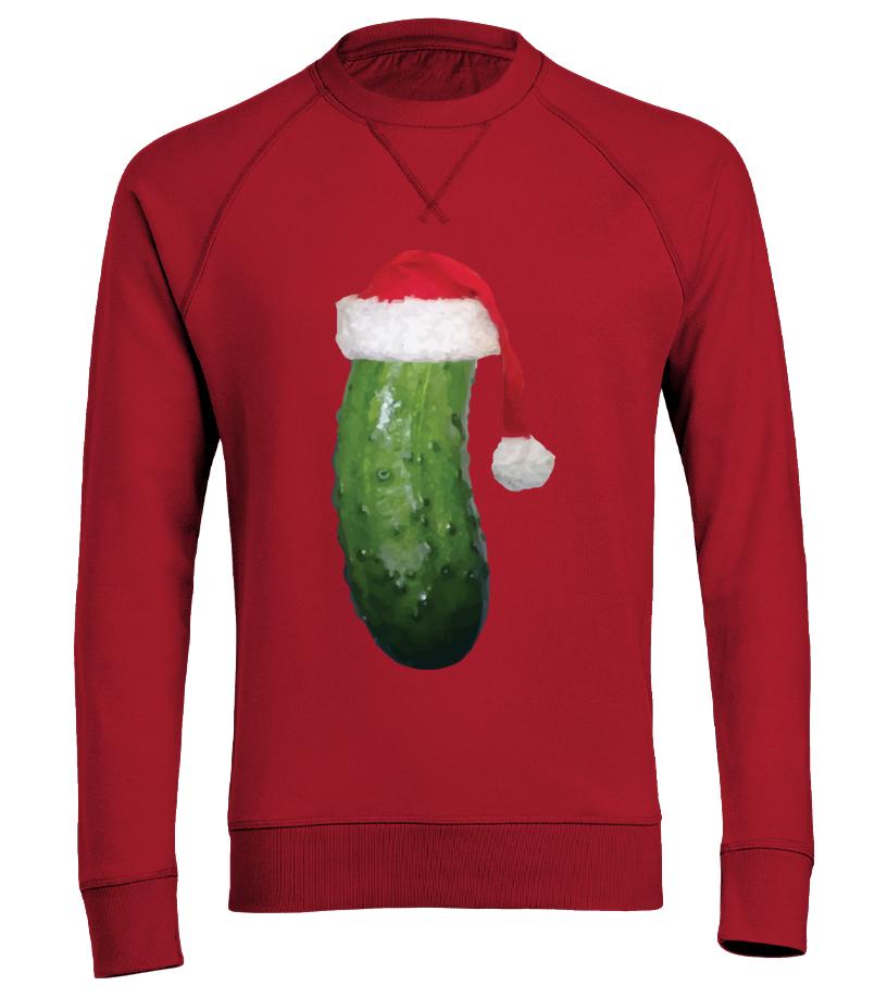 Kohl Ugly Christmas Sweaters.Christmas Pickle Ugly Christmas Sweater Sweatshirt Teezily