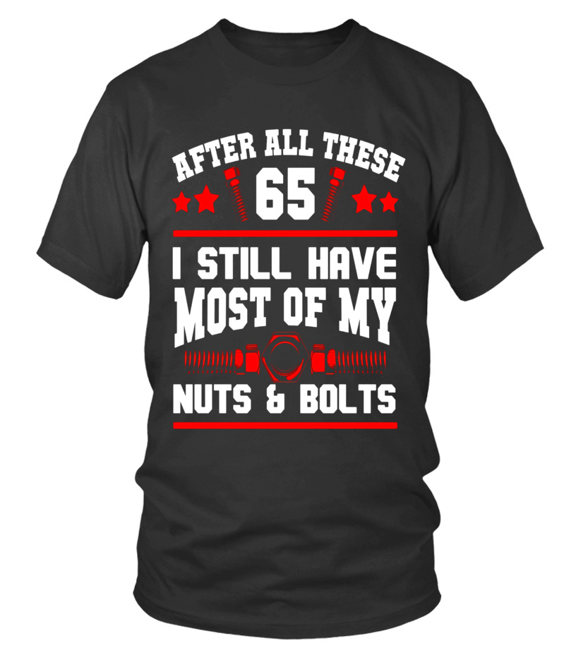 65th Birthday T Shirt 65 Years Old Funny Gifts For Man Woman