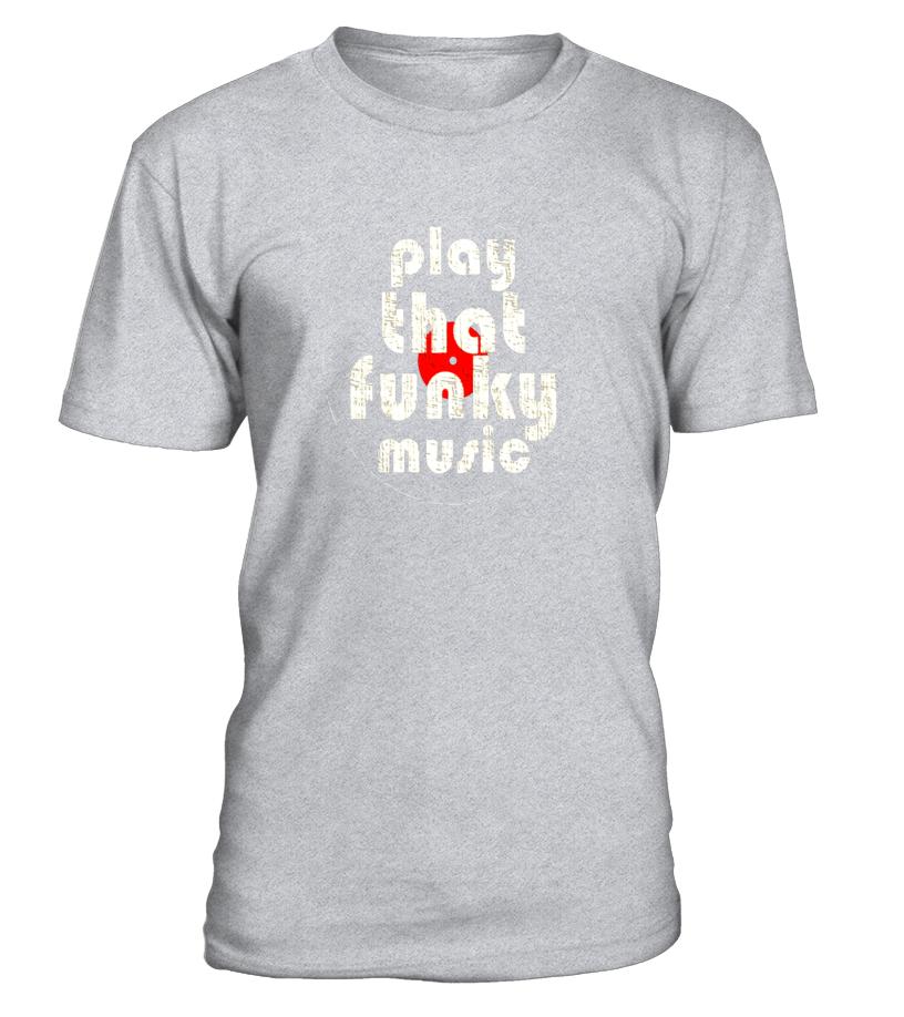 PLAY THAT FUNKY MUSIC Vintage 1970 T-Shirt: Men, Women, Kids