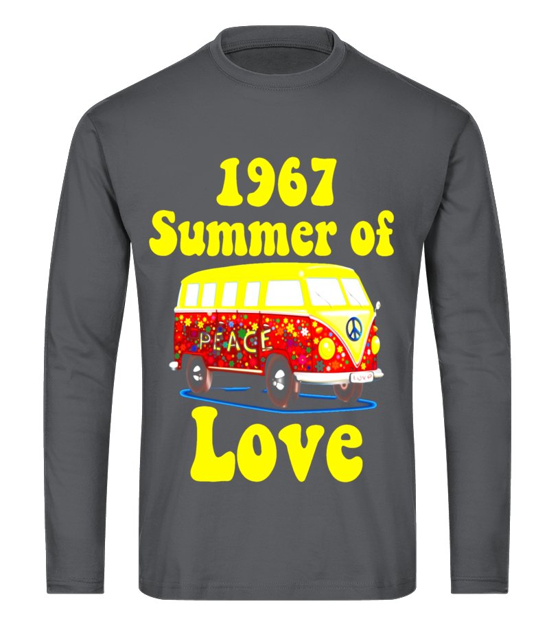 4197ecdef10 Camiseta - 1967 Summer of Love Retro Tees Vintage Sixties Hippie ...