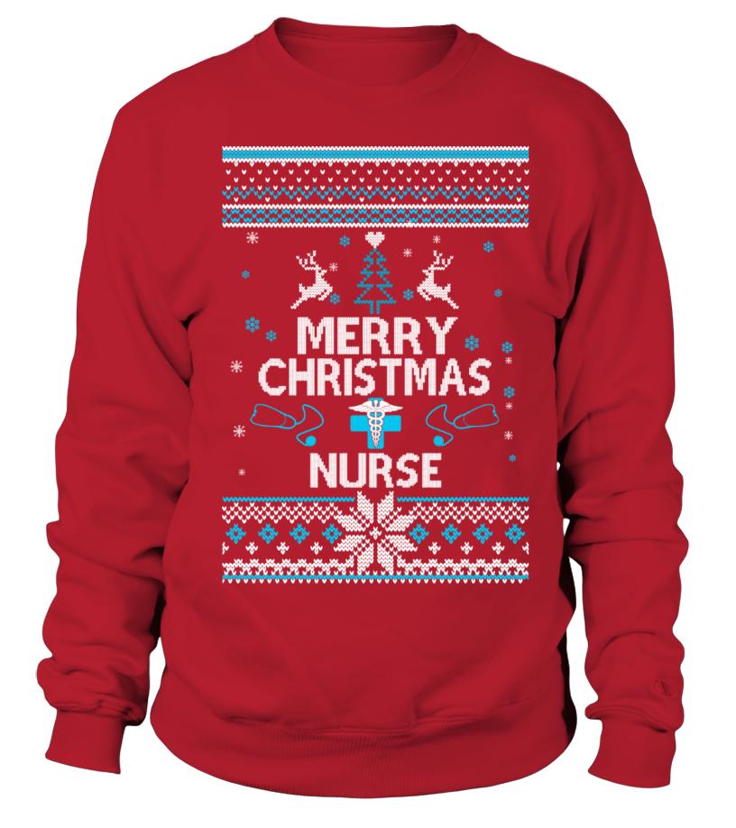 Nurse Christmas Sweater.Ugly Christmas Sweater Nurse T Shirt