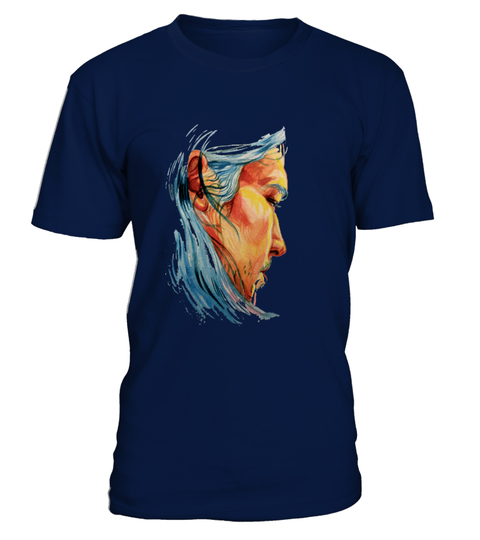Art man long hair T-shirt | Teezily