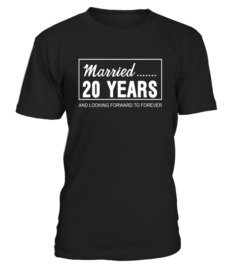 20th Wedding Anniversary Gifts For Him Her Couples T Shirt T Shirt Teezily