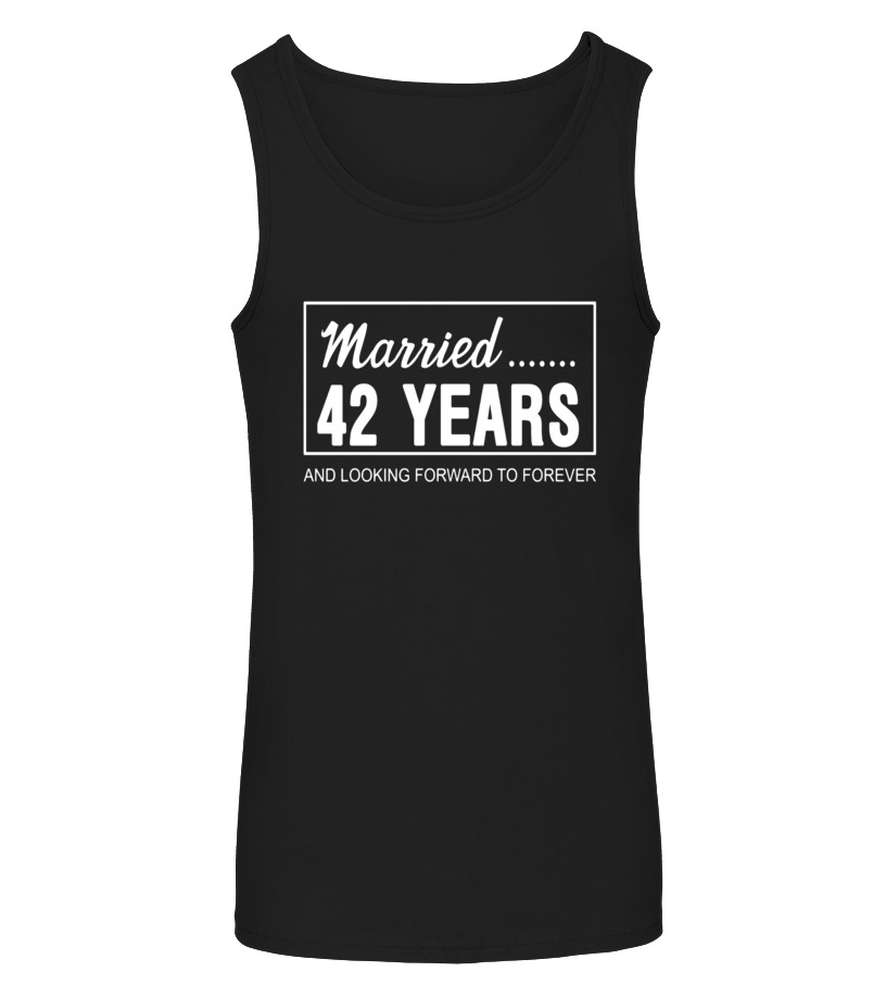 42nd Wedding Anniversary Gifts For Him Her Couples T Shirt T Shirt