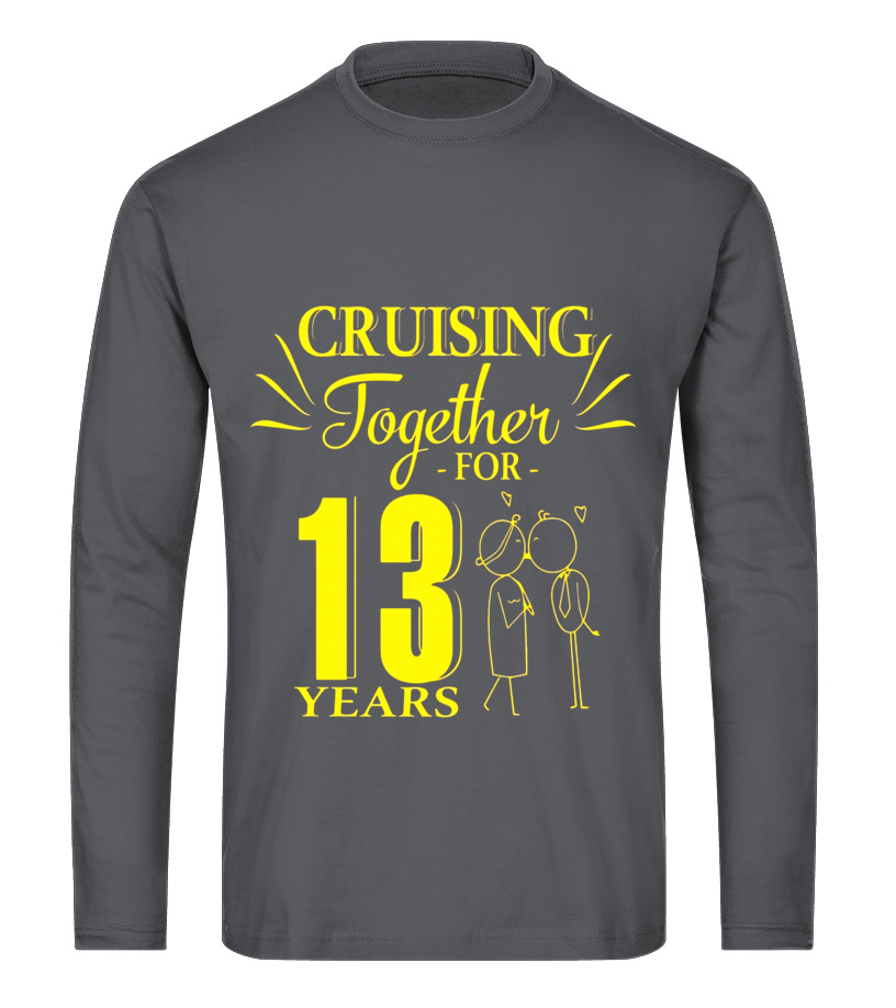 5c3a0e31 13th Wedding Anniversary Gift,Funny Matching Couple T Shirts - T ...