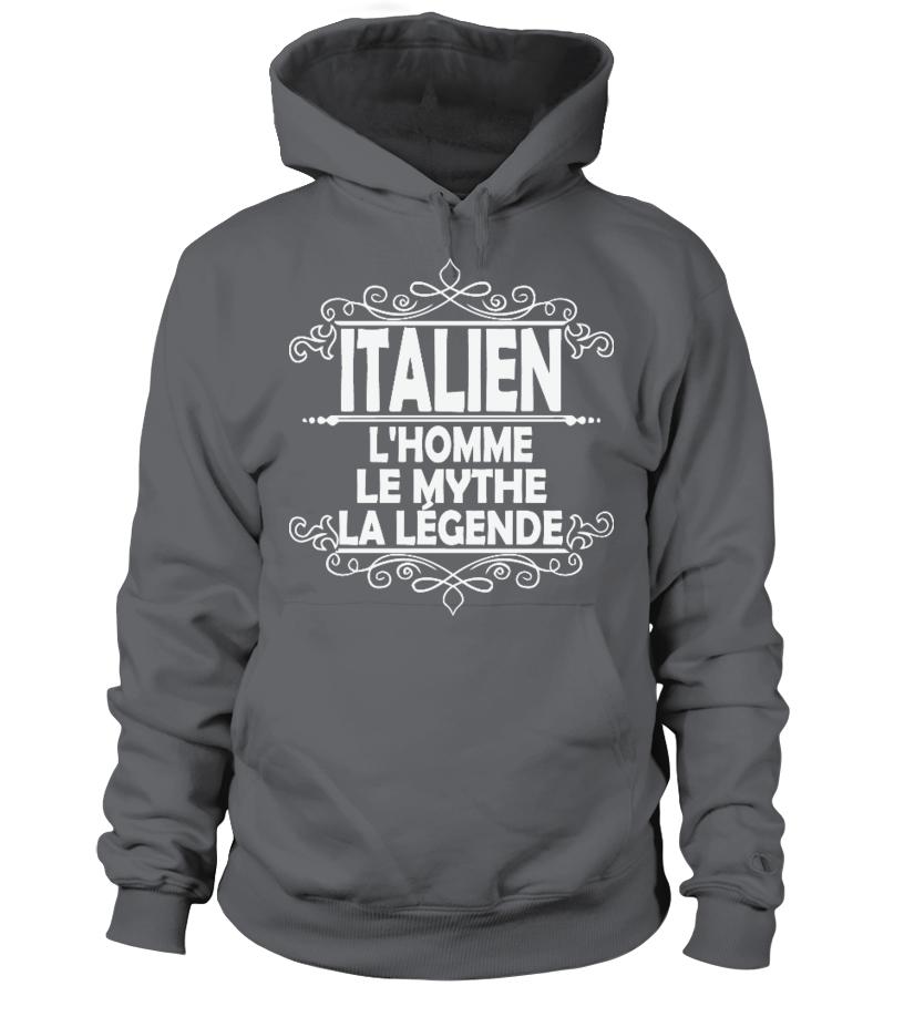 Le Sweat À LégendeTeezily Italien La L'homme Capuche Mythe u13lTFKJc5