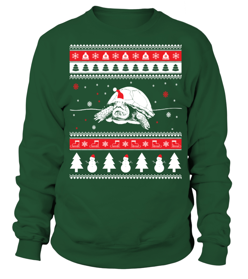 Turtle Ugly Christmas Sweater - Sweatshirt