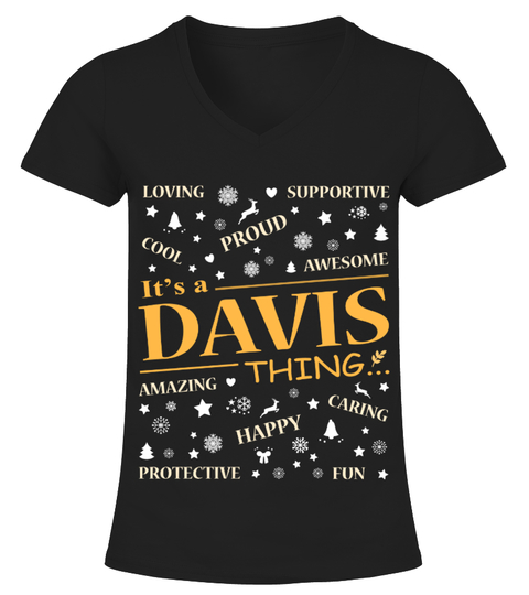 Camiseta IT IS DAVIS THING | Teezily