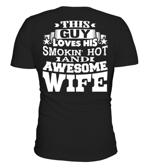 family - wife This Guy Loves His Wife! HOODIES