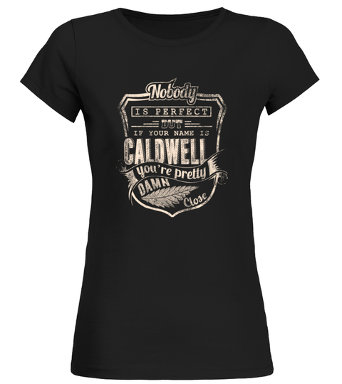 Camiseta CALDWELL COLLECTION: NOBODY PERFECT | Teezily