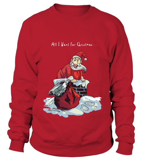 Christmas Jumper Santa delivers Sam Sweatshirt | Teezily